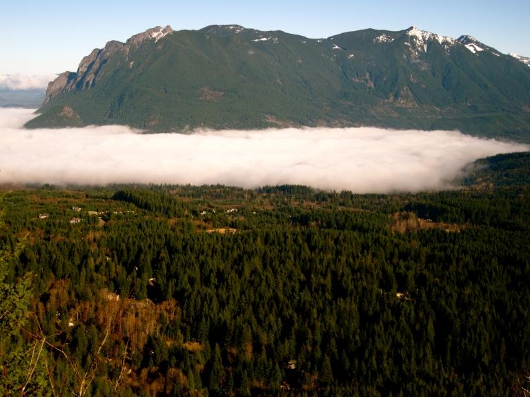Rattlesnake Mountain Fog