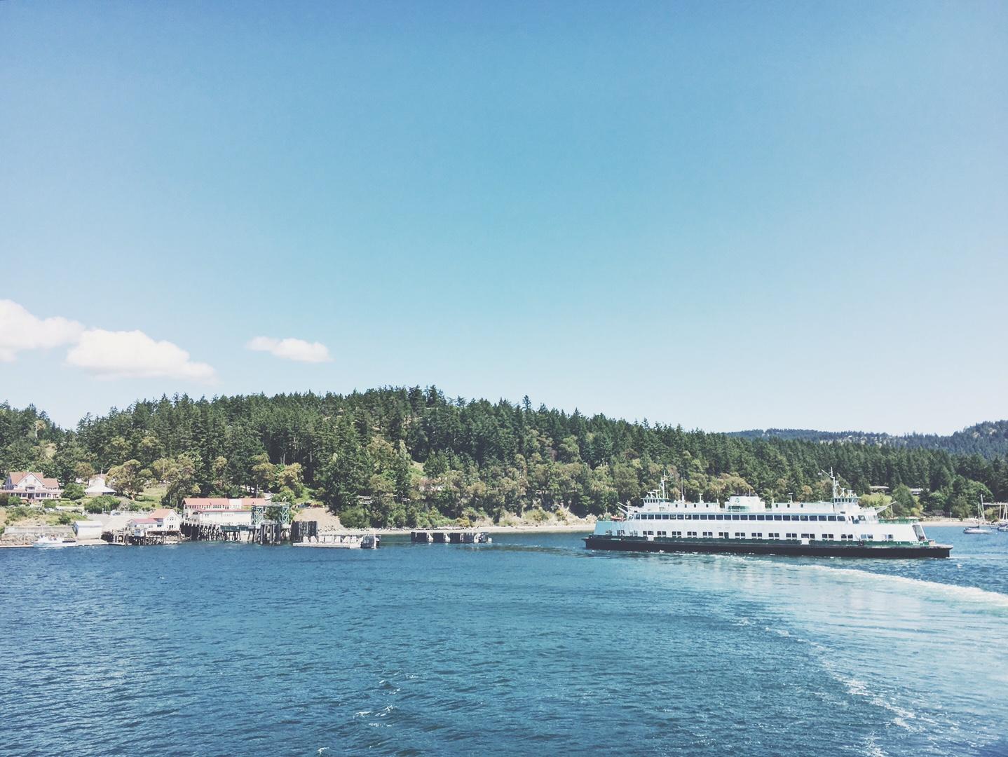 Orcas Ferry Dock